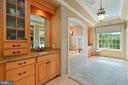 master spa bathroom - 11215 KINSALE CT, ELLICOTT CITY
