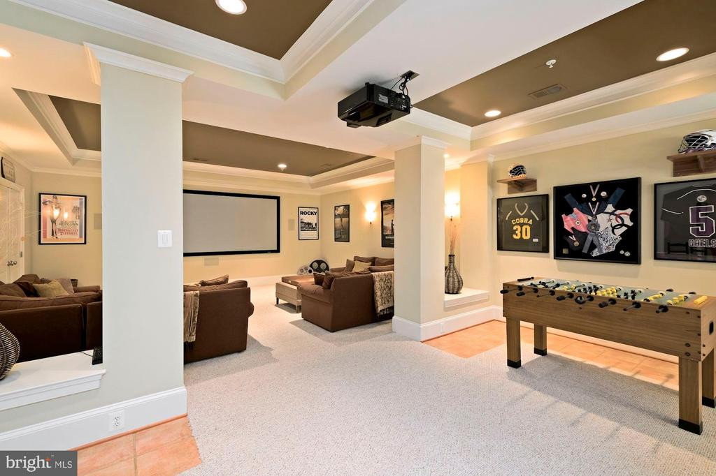 lower level entertainment area - 11215 KINSALE CT, ELLICOTT CITY