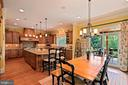 open kitchen and breakfast area - 11215 KINSALE CT, ELLICOTT CITY