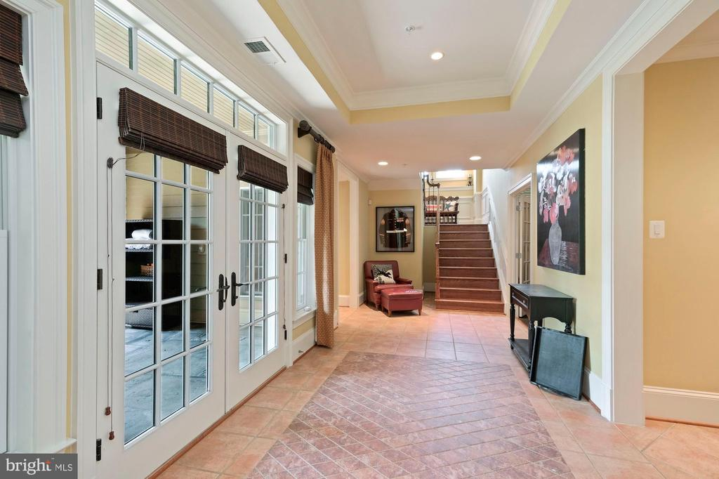 french doors leading out to main floor terrace - 11215 KINSALE CT, ELLICOTT CITY