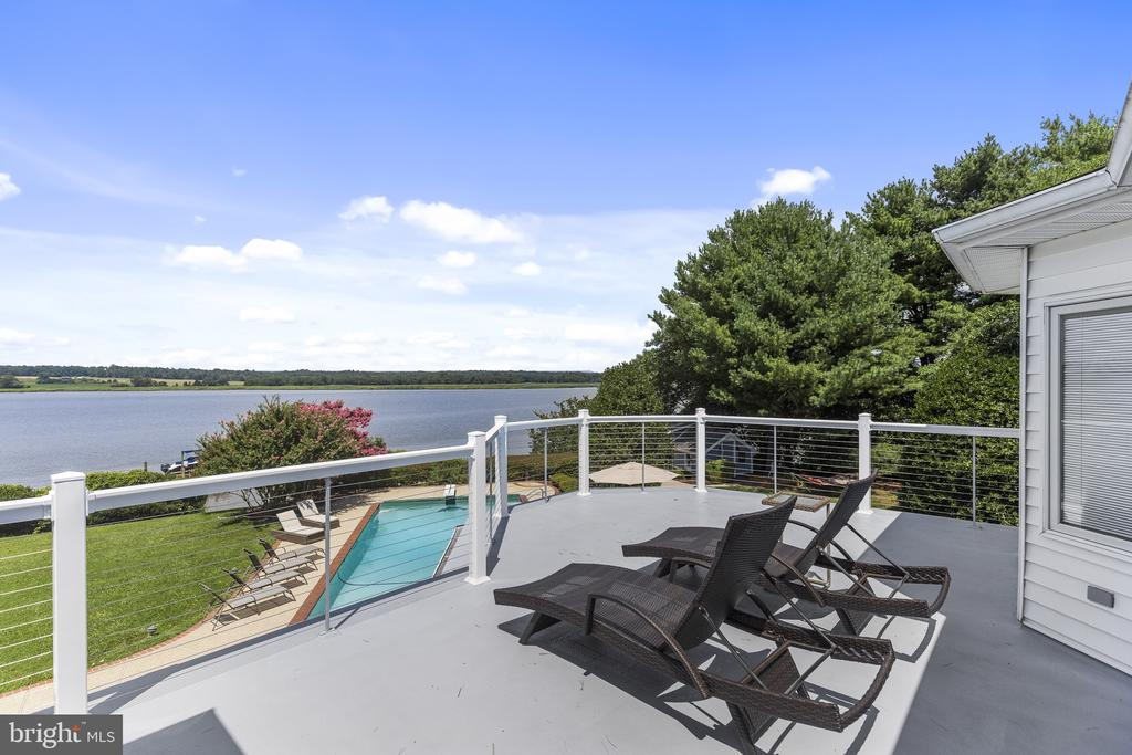 Owners suite balcony view - 3580 DEEP LANDING RD, HUNTINGTOWN