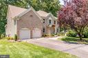 Two-Car Garage with additional driveway parking - 3720 SPICEWOOD DR, ANNANDALE