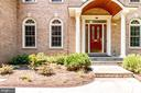 Portico and Stone Walk - 3720 SPICEWOOD DR, ANNANDALE