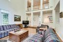 Striking Family Room - 3720 SPICEWOOD DR, ANNANDALE