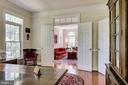 View from Office into Living Room - 3720 SPICEWOOD DR, ANNANDALE