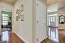 Main Level with entrance to lower level - 3720 SPICEWOOD DR, ANNANDALE