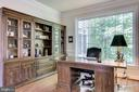 Large  study/library - 3720 SPICEWOOD DR, ANNANDALE