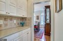 Butlers Pantry  between Dining Room & Kitchen - 3720 SPICEWOOD DR, ANNANDALE