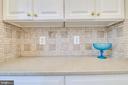 Butlers Pantry w/ granite counter  & backsplash - 3720 SPICEWOOD DR, ANNANDALE