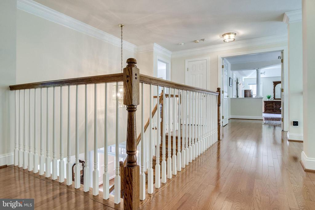 French doors open to the Master Suite - 3720 SPICEWOOD DR, ANNANDALE