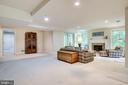 Huge Recreation Room - 3720 SPICEWOOD DR, ANNANDALE