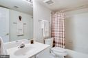 Full bathroom on lower level - 3720 SPICEWOOD DR, ANNANDALE