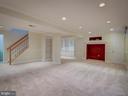 Lower Level-Recreation-Entertainment Room - 103 ENGLISH CT SW, LEESBURG