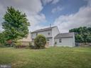 Rear Exterior View-Large Backyard - 103 ENGLISH CT SW, LEESBURG