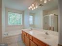 Master Bedroom Bathroom-Soaking Tub - 103 ENGLISH CT SW, LEESBURG