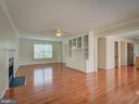 View from Family Room to Living Room - 103 ENGLISH CT SW, LEESBURG