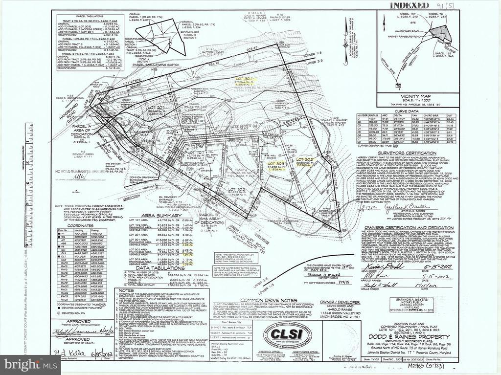 Lot 301 - 12702 E HANDBOARD RD, UNION BRIDGE