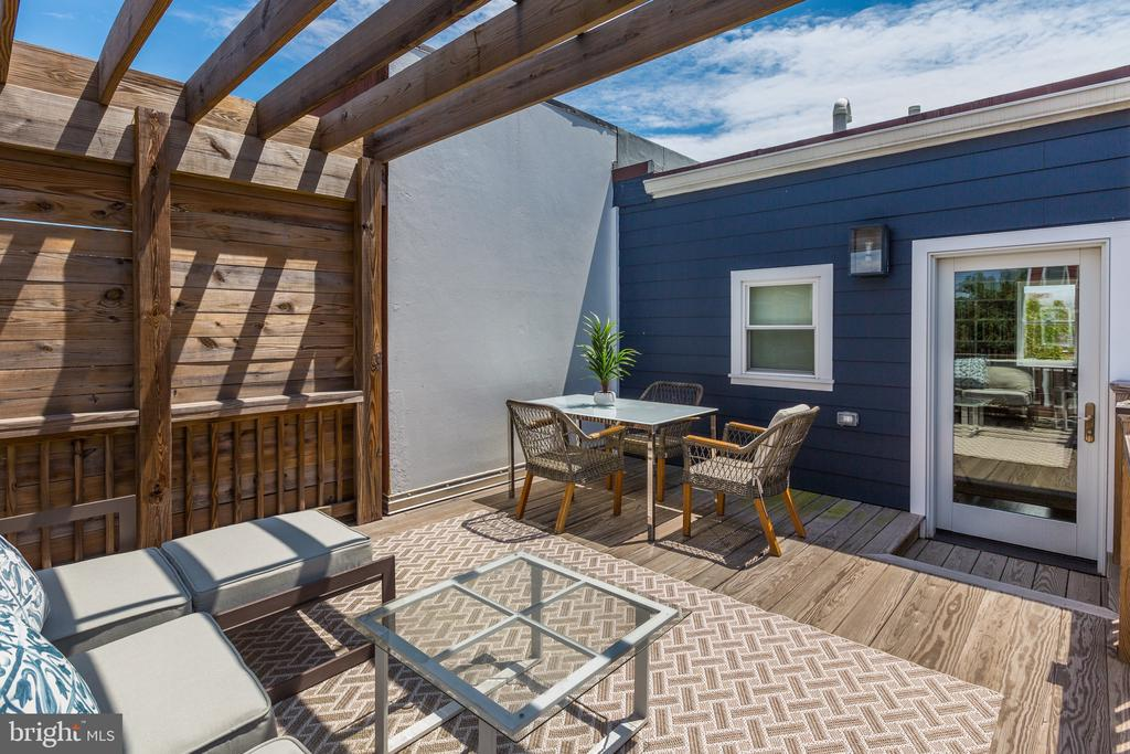 Rooftop Deck - 1013 O ST NW, WASHINGTON