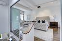 Collapsible Frosted Glass Wall Doors - 1013 O ST NW, WASHINGTON