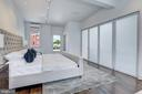 Frosted Glass Doors Create Optimal Privacy - 1013 O ST NW, WASHINGTON
