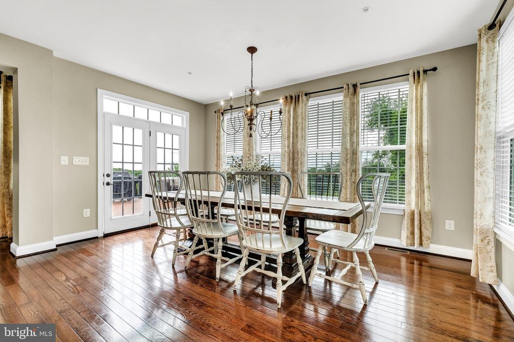 Breakfast Room - 18348 CHELSEA KNOLLS DR, MOUNT AIRY