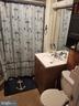 Main level full bathroom. - 13407 CATOCTIN FURNACE RD, THURMONT