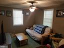 Main level bedroom #1. - 13407 CATOCTIN FURNACE RD, THURMONT
