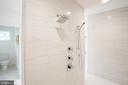 Rain head and hand held shower - 110 TAPAWINGO RD SW, VIENNA