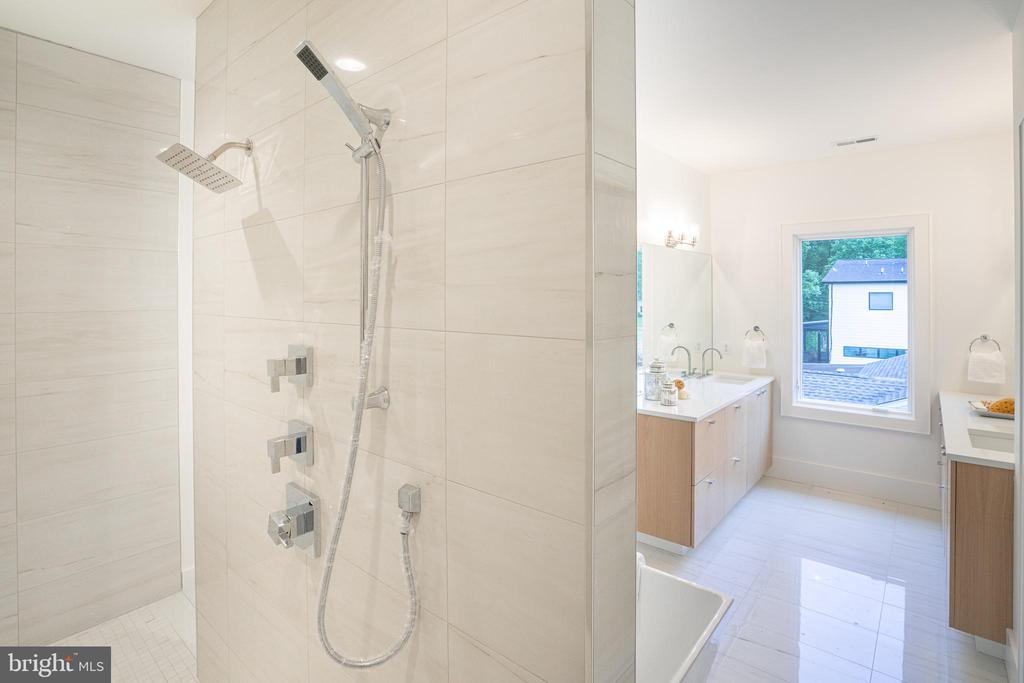 Luxury shower - 110 TAPAWINGO RD SW, VIENNA