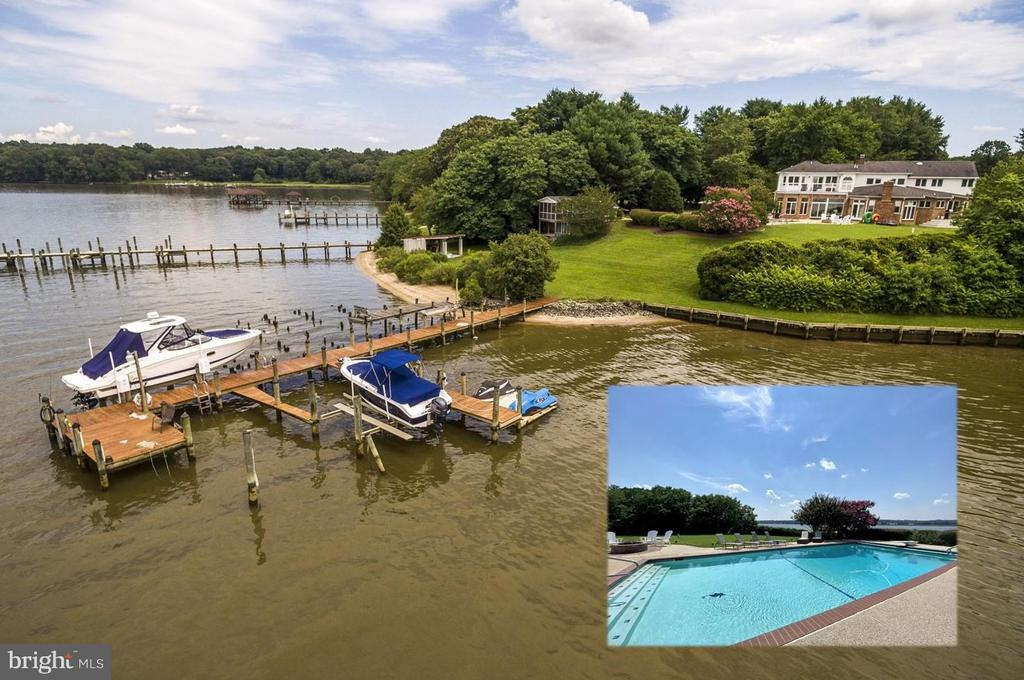 Patuxent Waterfront Property of Your Dreams! - 3580 DEEP LANDING RD, HUNTINGTOWN
