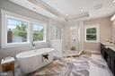 Master Bathroom with Designer Choice Finishes - 5631 SOUTHAMPTON DR, SPRINGFIELD