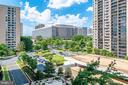 View from the balcony - 3705 S GEORGE MASON DR #702S, FALLS CHURCH