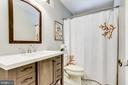 Updated bathrooms - 5000 FLEMING DR, ANNANDALE
