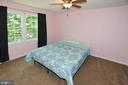 2nd Bedroom with ceiling fan - 20418 ROSEMALLOW CT, STERLING