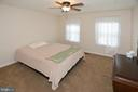 3rd Bedroom with ceiling fan - 20418 ROSEMALLOW CT, STERLING