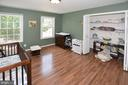 4th Bedroom with vinyl floors - 20418 ROSEMALLOW CT, STERLING