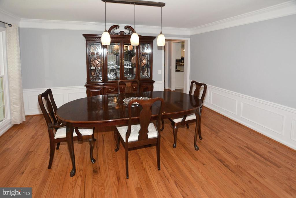Dining Room with hardwood floors - 20418 ROSEMALLOW CT, STERLING