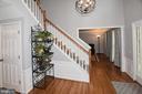 Updated foyer light . Nice hall closet - 20418 ROSEMALLOW CT, STERLING