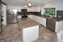 Kitchen with plenty of Counter Space - 20418 ROSEMALLOW CT, STERLING