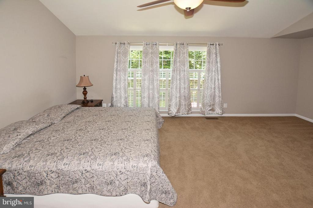 Tranquil windows in MB with view of rear yard - 20418 ROSEMALLOW CT, STERLING
