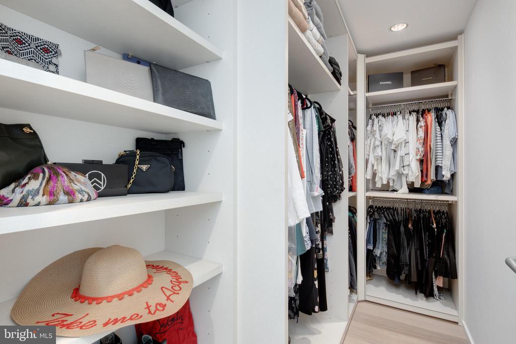 Master walk-in closet - 920 I ST NW #715, WASHINGTON