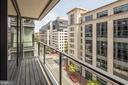 Second bedroom balcony - 920 I ST NW #715, WASHINGTON