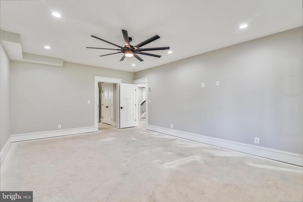 Lower level bedroom #6 - 14612 BRISTOW RD, MANASSAS