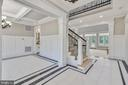 To your left you have your formal dining room - 14612 BRISTOW RD, MANASSAS