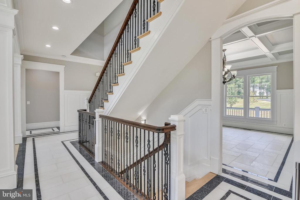 As you go downstairs.. - 14612 BRISTOW RD, MANASSAS