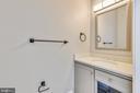 Main floor half bathroom - 14612 BRISTOW RD, MANASSAS