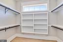 First closet in master - 14612 BRISTOW RD, MANASSAS