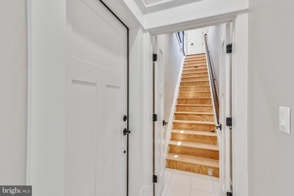 Second set of stairs leading you up to bedroom #5 - 14612 BRISTOW RD, MANASSAS