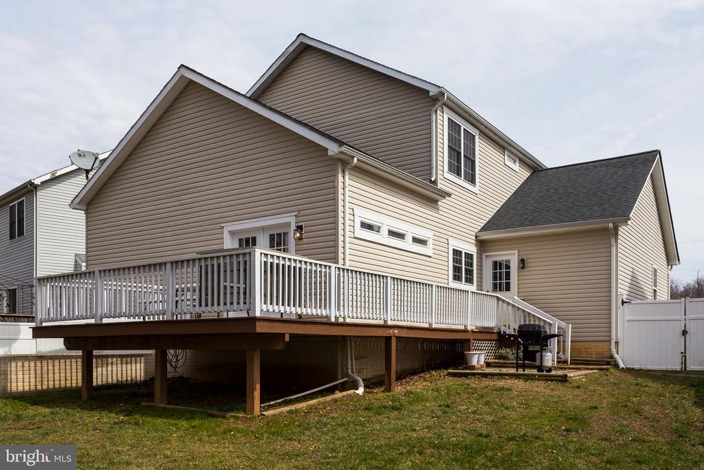 Exterior : Deck/Backyard - 59 GLACIER WAY, STAFFORD