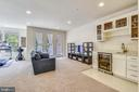 Bottom level entertaining area - 23410 ADAGIO TER, BRAMBLETON